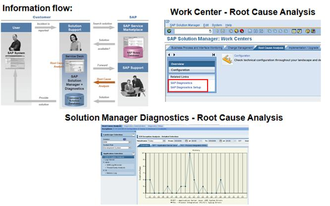 SAP SOLMAN Screens for Solution Manager Diagnostics