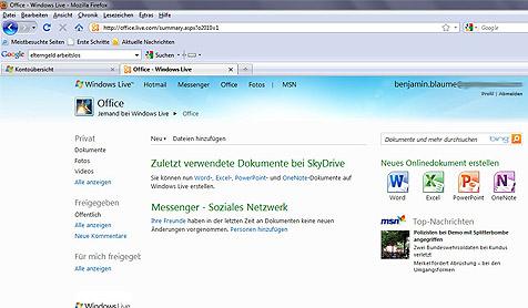 microsoft office 2010 web apps