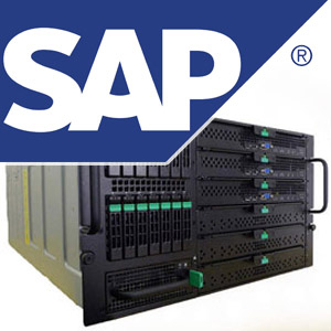 SAP Logo and HANA Server